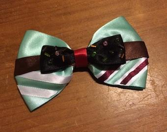 Disney Inspired Vanellope (Wreck It Ralph) Hair Bow