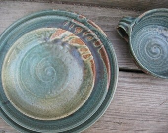 Custom Dinnerware, Place Settings, Dishes, Plates; made to order