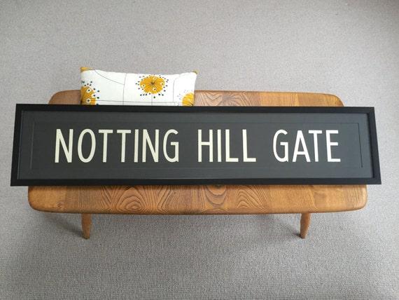 vintage london bus blinds notting hill gate. Black Bedroom Furniture Sets. Home Design Ideas