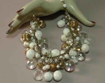 Vintage Bangle Bead Necklace