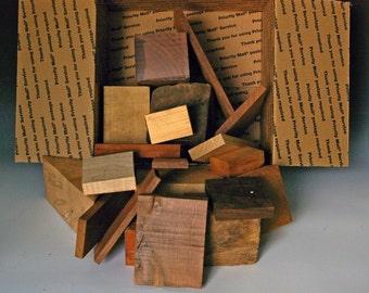 Beautiful hardwood scraps