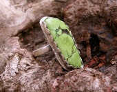 Reserved for Theresa - Please do not purchase - Chrysocolla Ring