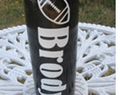 Personalized Vinyl Decal - BOTTLE NOT INCLUDED - Aluminum Water Bottle - Monogrammed Initial - Gym - Sports - School - Office