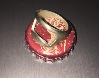 Bottle Opener Ring, women's bottle opener ring, handmade ring