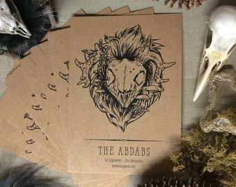Abdab Postcard Print - free shipping