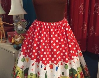 Gnome Gathered Skirt