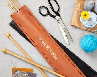 Personalised Knitting Needle Holder