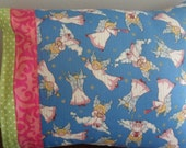 Travel Pillowcase with Angels Nap Pillow