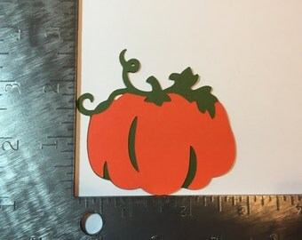 Pumpkin die cut