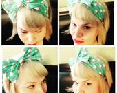 NEW NO tie, Flamingo Bow Headband