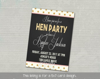 HEN PARTY INVITATION