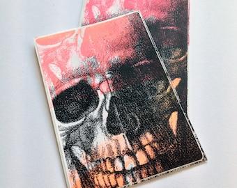 Inside Us All (Appropriated): Screenprinted Art Sticker
