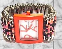 Harvest Safety Pin Watch