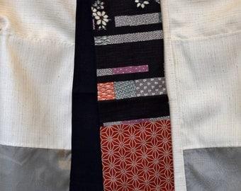 KiMonoMono cotton/linen scarf black 3
