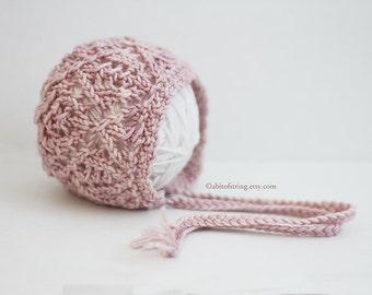 Rose Winnie Newborn Bonnet