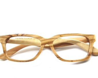 AAAA olive wood TAKEMOTO handmade glasses AUTUMN only one