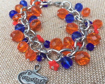 University of Florida Charm Bracelet