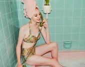 Miss Tamborine Swim Set - Handmade by Alice