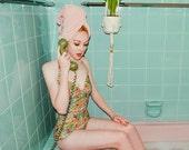 Miss Tamborine Swimsuit - Handmade by Alice