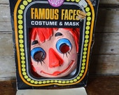 Vintage Raggedy Ann Halloween Costume 1970's Adorable