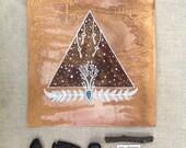 Original Painting-Sepia Starlight
