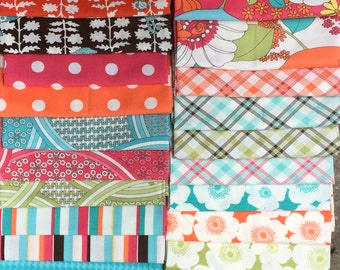 Super SALE : Urban Chiks Summer in the City moda fabric 25 FQ Set -Almost- the complete collection
