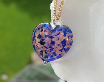 Venetian Glass Necklace - Venetian Murano Glass