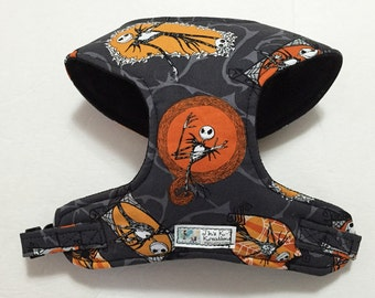 Nightmare Before Christmas, Nightmare Before X-mas Comfort Soft Dog Harness - Made to Order -