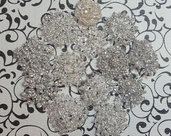 DIY Brooch Bouquet Kit - Broach Bouquet Kit - Wedding Bouquet Kit - Broach Lot - Brooch Lot - Bridal Bouquet - Creates Petite-Medium Bouquet