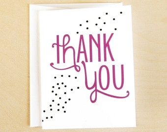 Thank You Polka Dots Card