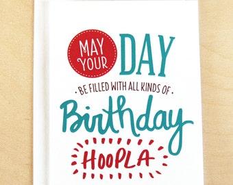 Birthday Hoopla - Happy Birthday Card