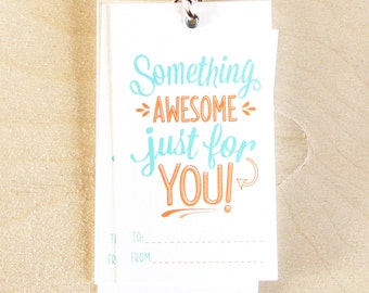 Something Awesome - Gift Tags