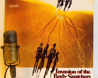 """ON SALE Invasion Of The Body Snatchers Vinyl Record Album 1970s Sci-Fi Thriller Science Fiction soundtrack """"Invasion Of The Body Snatchers""""("""