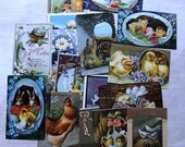 Antique Easter Postcards Lot