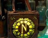 Steampunk Captain Nemo wearable Show lamp Glow Box outfit.