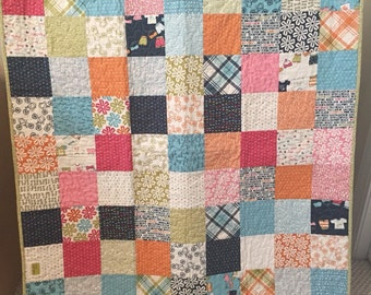 Lucy's Crab Shack baby quilt
