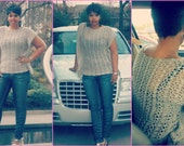 Instant Download Pattern - Crochet Lace Top - Crochet Kimono Pattern - Crochet Plus Size Clothing - Instant Download Pattern