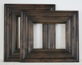 Picture Frame / Knotty Alder / Madera Style / With Carve / Sizes 12x16 to 16x20