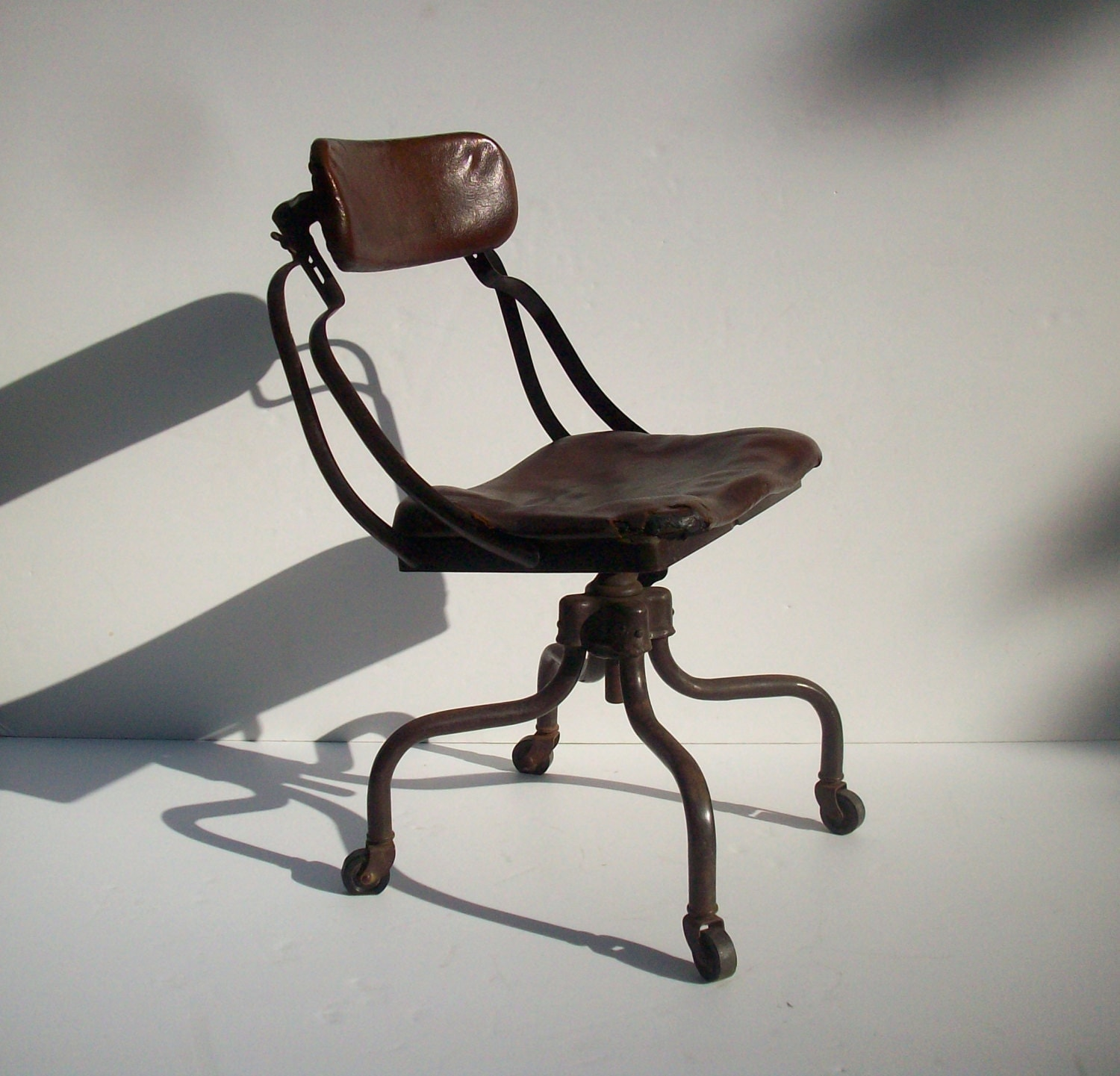 SALE Vintage Industrial Chair Fritz Cross Remington Rand