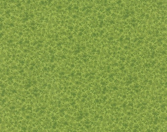 Green Tonal Wildflowers #74-19  Summer Moda Quilt Fabric by the 1/2 yard