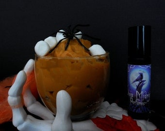 PUTRID PUDDING Perfume Oil -  Milk, Butterscotch, Frankincense, Marshmallows, Powdered Sugar - Halloween Perfume - Fall Fragrance