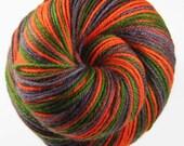 DARK CAMO Self-Striping SW Merino Wool/Nylon/Cashmere Fingering Weight Yarn