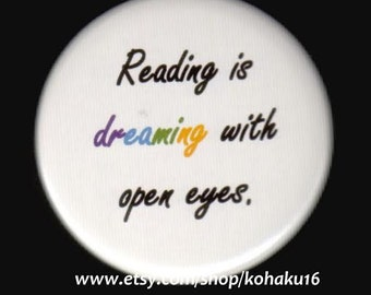Reading and Dreaming Button