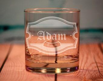 Engraved Groomsman Gift, 5 Custom Engraved Old Fashioned Glasses, Engraved Rocks Glasses, Groomsmen Gifts, Usher Gifts, Best Man Gifts