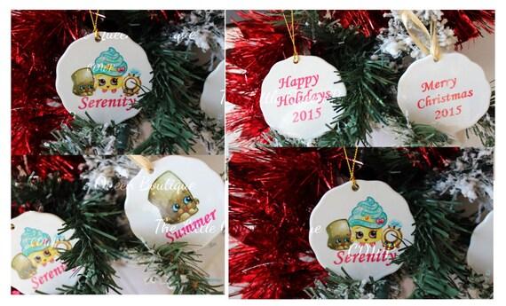 Shopkin Inspired Christmas Ornaments