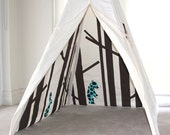 Secret Greenwood Play Tent | Choose your animal fabric