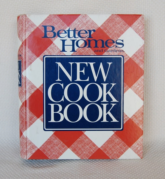 Vintage better homes and gardens new cookbook tenth edition - Vintage better homes and gardens cookbook ...