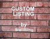 Custom Listing for Karen- Antique White Wood Sign (12x12)