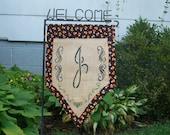 Halloween Yard Banner