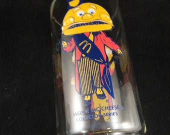 Mayor McCheese McDonalds Collector Series Drinking Glass